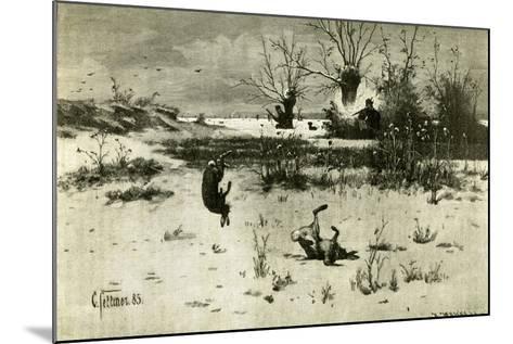 Hunt Austria 1891--Mounted Giclee Print