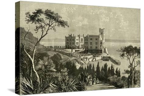 Miramar Italy 19th Century--Stretched Canvas Print