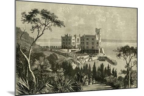 Miramar Italy 19th Century--Mounted Giclee Print