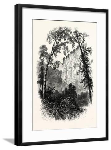 Chee Tor, Chee Dale, UK--Framed Art Print