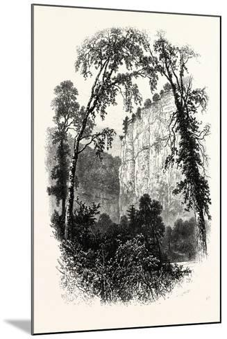 Chee Tor, Chee Dale, UK--Mounted Giclee Print