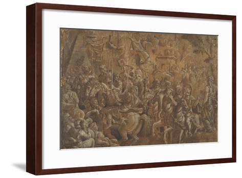The Soldiers Crowned--Framed Art Print