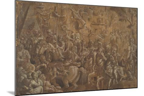 The Soldiers Crowned--Mounted Giclee Print