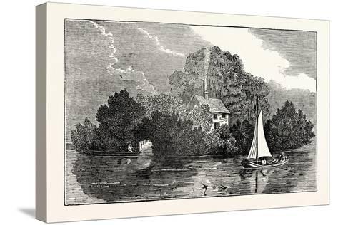 Magna Charta Island--Stretched Canvas Print