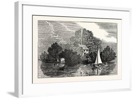 Magna Charta Island--Framed Art Print