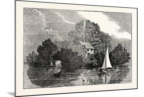 Magna Charta Island--Mounted Giclee Print