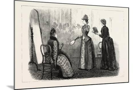At the Milliner's, 1890--Mounted Giclee Print
