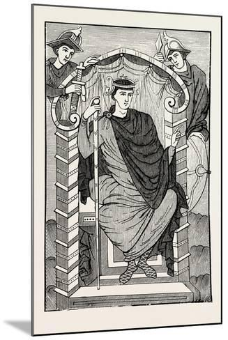 The Emperor Lothaire--Mounted Giclee Print
