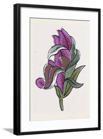 Persian Ornament--Framed Art Print