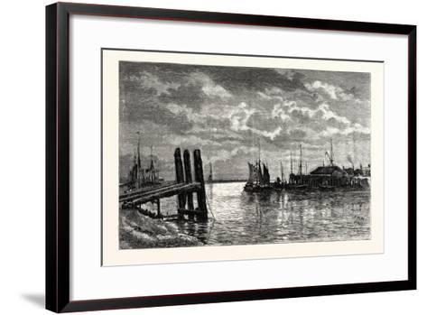 The Harbour, Rye, UK--Framed Art Print