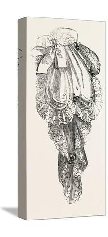 Jabot Necktie, Fashion, 1882--Stretched Canvas Print