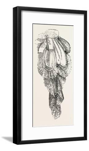 Jabot Necktie, Fashion, 1882--Framed Art Print