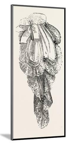 Jabot Necktie, Fashion, 1882--Mounted Giclee Print