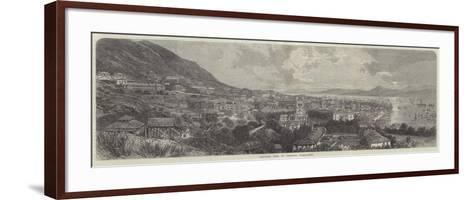 General View of Victoria, Hong-Kong--Framed Art Print