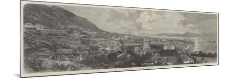 General View of Victoria, Hong-Kong--Mounted Giclee Print