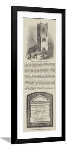 Hucknall Torkard Church--Framed Art Print