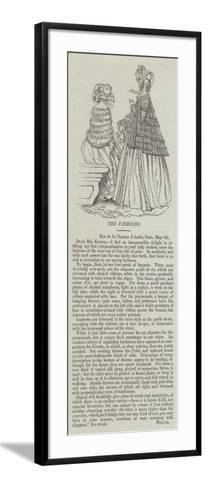 The Fashions--Framed Art Print