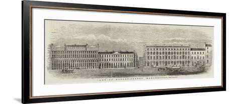 Part of Mosley-Street, Manchester--Framed Art Print