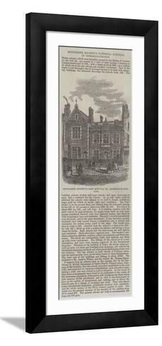 Middlesex Society's National Schools, St George's-In-The-East--Framed Art Print