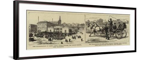 The Assassination of James Carey--Framed Art Print