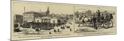 The Assassination of James Carey--Mounted Giclee Print