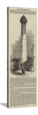 Cast Iron Lighthouse for Ceylon--Stretched Canvas Print