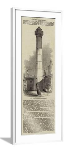 Cast Iron Lighthouse for Ceylon--Framed Art Print
