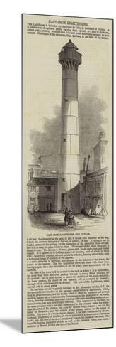 Cast Iron Lighthouse for Ceylon--Mounted Giclee Print