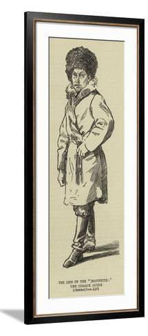 The Loss of the Jeannette, the Cossack Guide--Framed Art Print