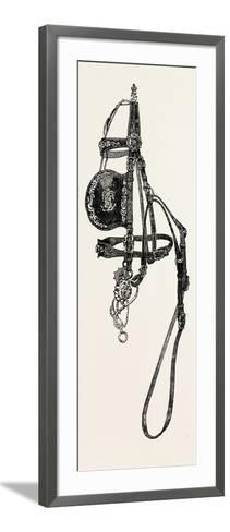 Silver Mounted Carriage Harness--Framed Art Print