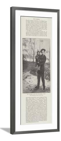 Dr Nansen and His Daughter, Liv--Framed Art Print