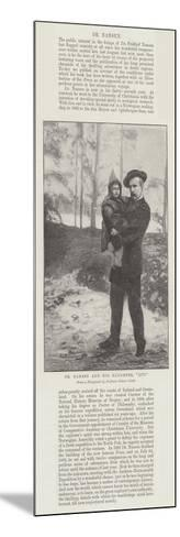 Dr Nansen and His Daughter, Liv--Mounted Giclee Print