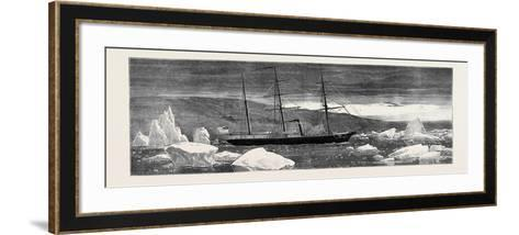 Loss of the American Arctic Exploring Vessel Jeanette: the Jeannette--Framed Art Print