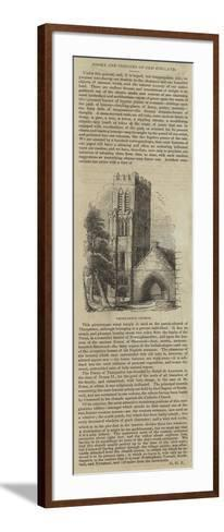 Thurgarton Church--Framed Art Print