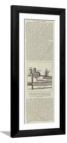 The Mersey Tunnel--Framed Art Print