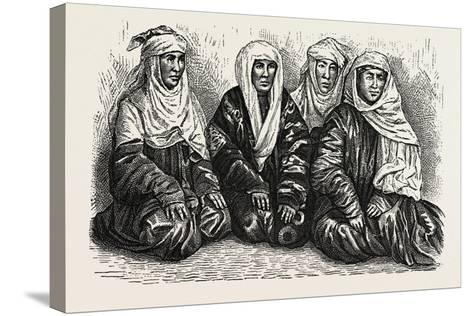 Turkoman Women--Stretched Canvas Print