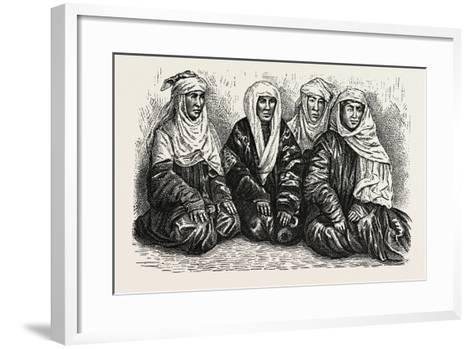 Turkoman Women--Framed Art Print