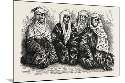 Turkoman Women--Mounted Giclee Print