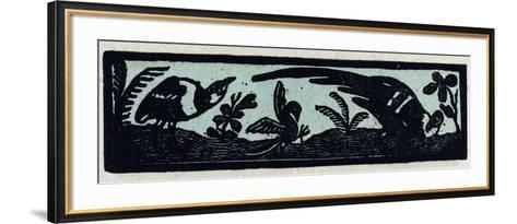 Illustration of English Tales Folk Tales and Ballads, Three Birds--Framed Art Print
