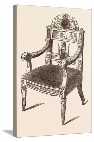 Chair--Stretched Canvas Print