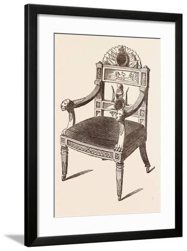 Chair--Framed Art Print