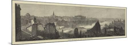 General View of the Ruins after the Great Fire at Boston--Mounted Giclee Print