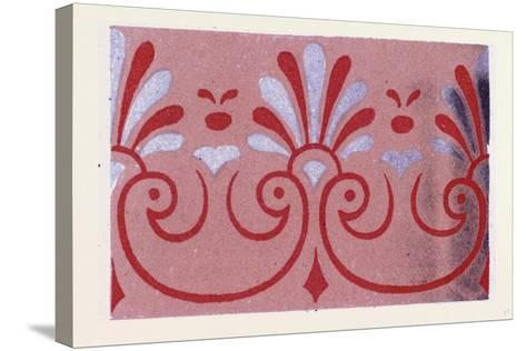 Greek Ornament--Stretched Canvas Print