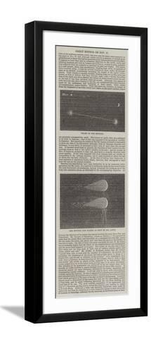 Great Meteor on 27 November--Framed Art Print