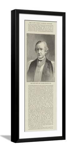 The Late Right Honourable Harold Browne--Framed Art Print