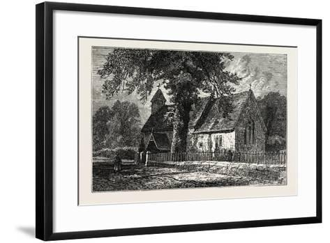 Bemerton Church--Framed Art Print