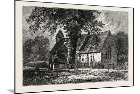 Bemerton Church--Mounted Giclee Print
