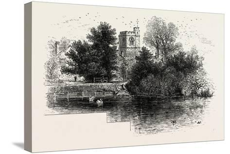 Bray Church, UK--Stretched Canvas Print