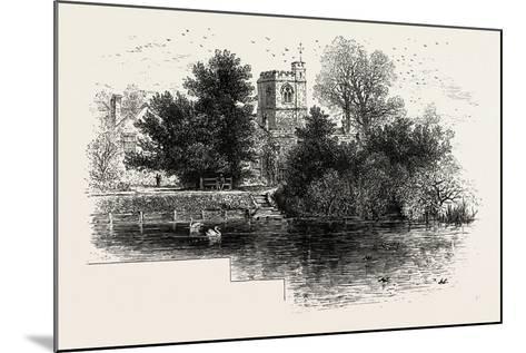 Bray Church, UK--Mounted Giclee Print