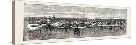 New York in the Middle of the Eighteenth Century, USA, 1870s--Stretched Canvas Print